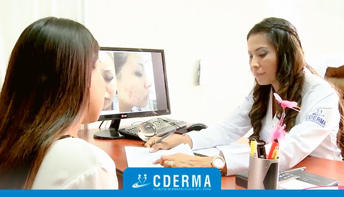 dermatologa paciente